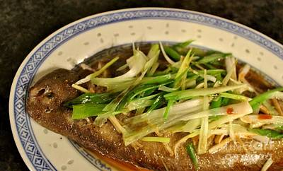 Photograph - Steamed Dover Sole by Katy Mei