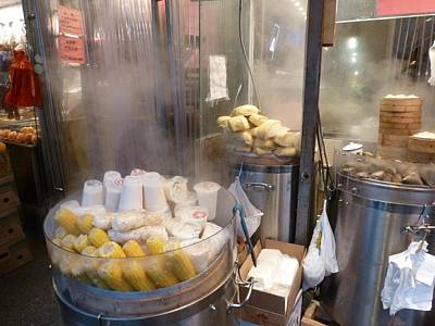 Photograph - Steamed Dumplings by Steve Breslow