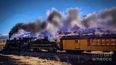 Photograph - Steaming Along On The 480 by Janice Rae Pariza