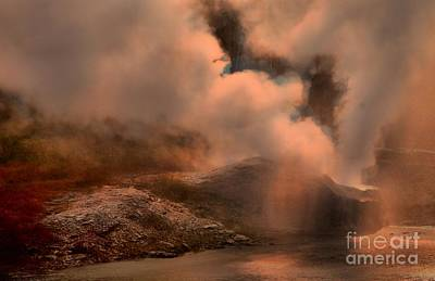 Photograph - Steaming Riverside by Adam Jewell