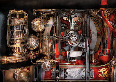 Photograph - Steampunk - Check The Gauges  by Mike Savad