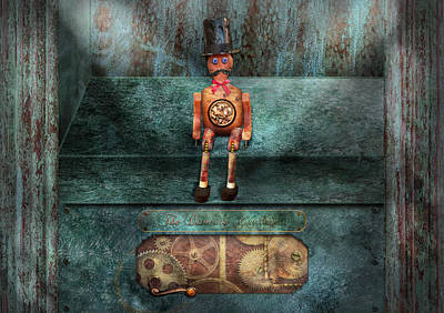Steampunk - My Favorite Toy Art Print by Mike Savad