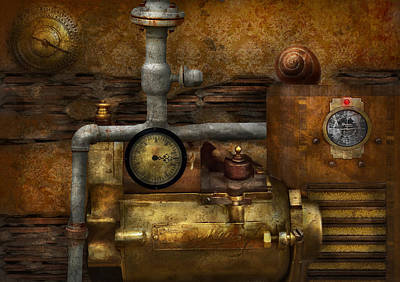 Steampunk - The Device Art Print