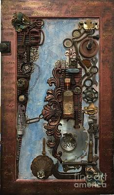 Mixed Media - Steampunk 1 by Marcia Hero