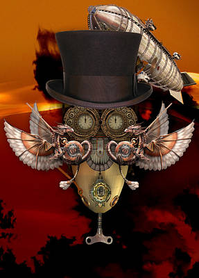 Mixed Media - Steampunk Art by Marvin Blaine