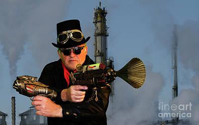 Photograph - Steampunk Bob 10 by Bob Christopher