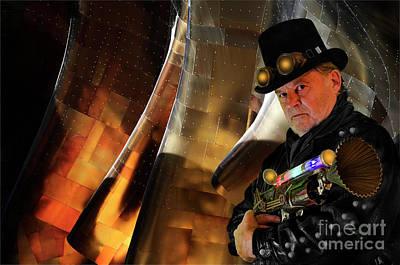 Photograph - Steampunk Bob 15 by Bob Christopher