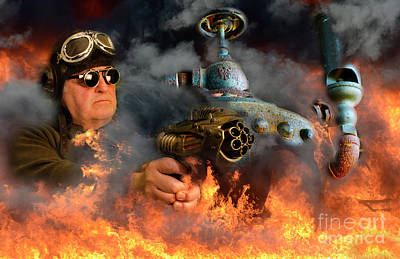 Photograph - Steampunk Bob 17 by Bob Christopher