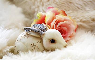 Photograph - Steampunk Bunny  by Susan Vineyard