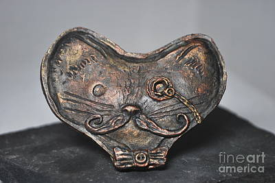 Relief - Steampunk Cat  by Reina Resto