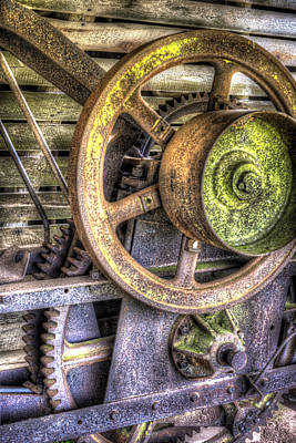 Photograph - Steampunk Farming by Andy Crawford