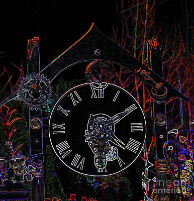 Photograph - Steampunk Garden by Louise Magno