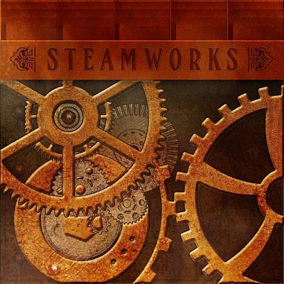 Painting - Steam Works by Jean Moore
