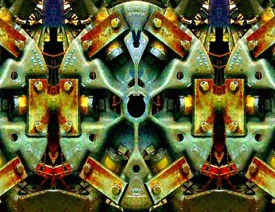Photograph - Steampunk Machination 2 by Marianne Dow