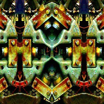 Photograph - Steampunk Machination 3 by Marianne Dow