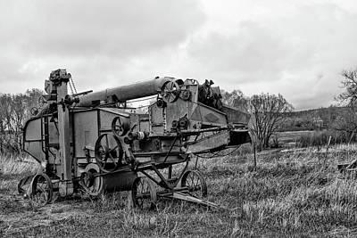 Photograph - Steampunk Thrasher Monochrome by Alana Thrower
