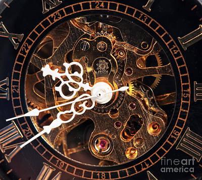 Steampunk Time Art Print by John Rizzuto