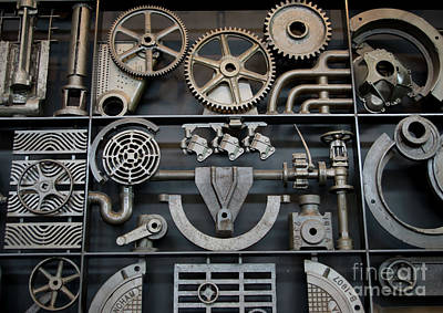 Photograph - Steampunk Wall by Liz Masoner