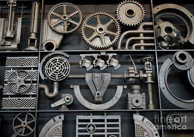 Photograph - Steampunk Wall by Liz Masoner