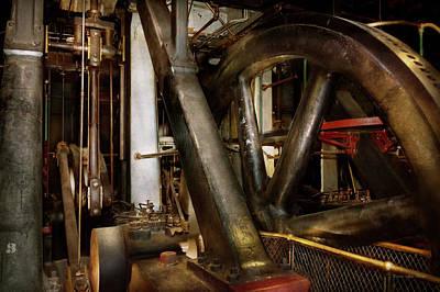 Steampunk - Wheels Of Progress Art Print by Mike Savad