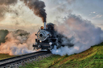 Photograph - Steamy Departure by Shelly Gunderson