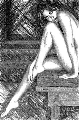 Digital Art - Steamy Hot by Rafael Salazar