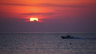 Photograph - Steamy Sunrise Delray Beach Florida by Lawrence S Richardson Jr