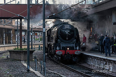 Photograph - Stean Departure At York by David  Hollingworth