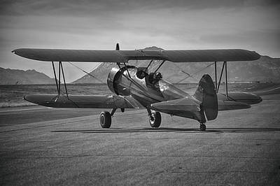 Photograph - Stearman At French Valley by Bill Dutting