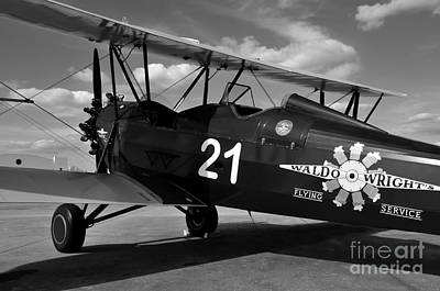 Stearman Biplane Art Print by David Lee Thompson
