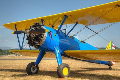 Photograph - Stearman by Jeff Cook