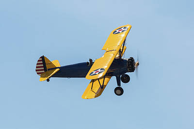 Photograph - Stearman by John Daly