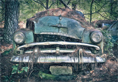 Photograph - Steel And Chrome by Shirley Radabaugh