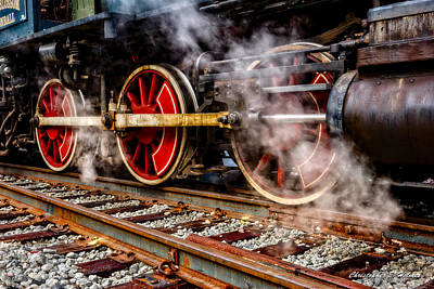 Photograph - Steel And Steam by Christopher Holmes