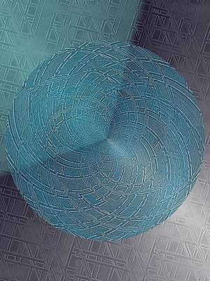 Digital Art - Steel Ball by Tim Allen