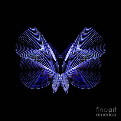 Photograph - Steel Butterfly by Brian Jones