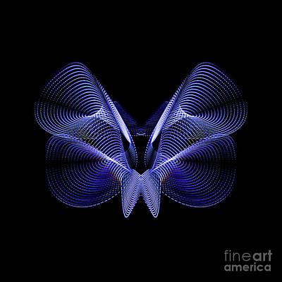 Studio Grafika Vintage Posters - Steel Butterfly by Brian Jones