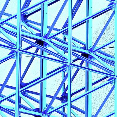 Steel Canopy Square Art Print