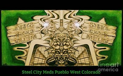 Photograph - Steel City Meds by Kelly Awad
