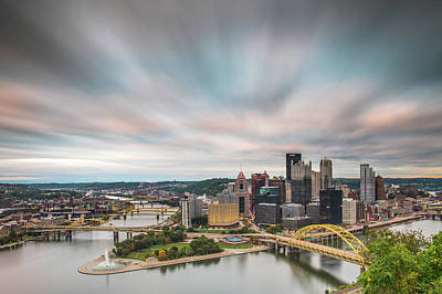Photograph - Steel City by Paul Treseler