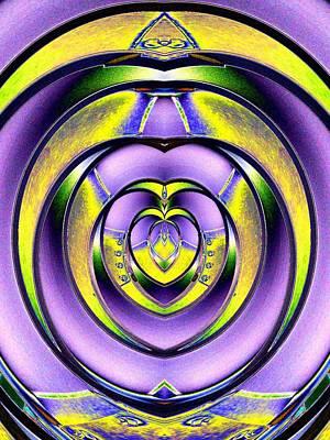 Library Digital Art - Steel My Heart Away by Tim Allen