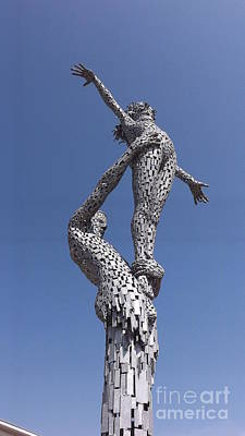 Photograph - Steel People by John Bailey Photos