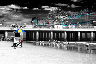 Photograph - Steel Pier Fusion by John Rizzuto