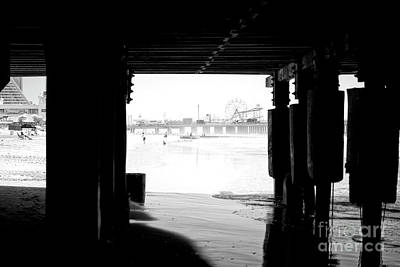 Photograph - Steel Pier In The Distance by John Rizzuto