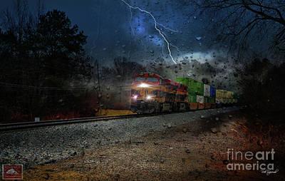 Photograph - Steel Strike by Rick Lipscomb