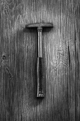 Photograph - Steel Tack Hammer by YoPedro