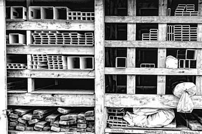 Photograph - Steel Tubes by Steven Greenbaum