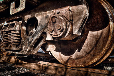 Photograph - Steel by Tyra OBryant