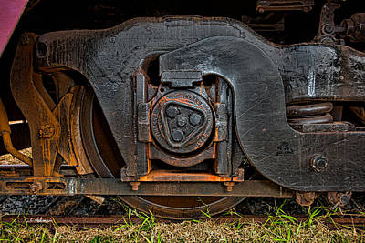 Photograph - Steel Wheel Of Progess by Christopher Holmes