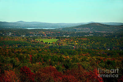 Photograph - Steele Hill New Hampshire by Mim White
